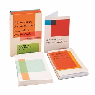 Poems For Friendship And Joy: 20 Notecards (2 Each Of 10 Designs) With Envelopes