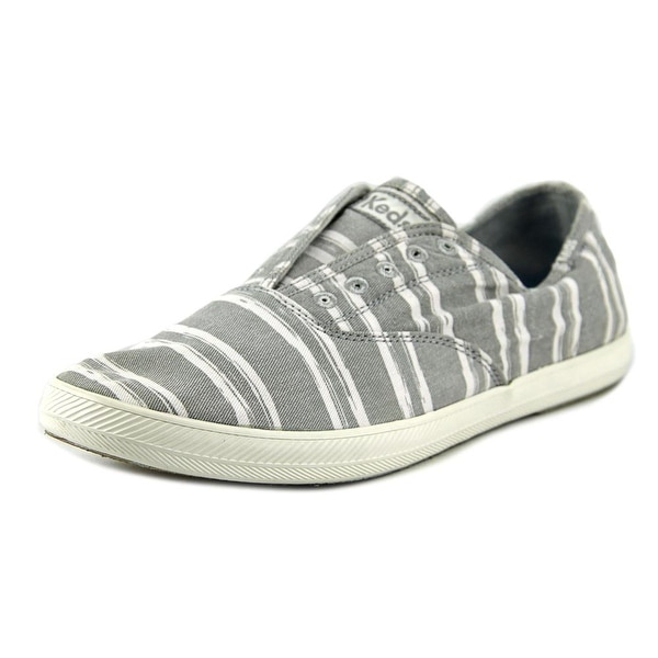 Keds Kick Start Jersey Men Round Toe Canvas Gray Sneakers