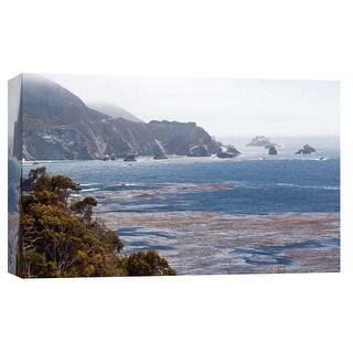 "PTM Images 9-102250  PTM Canvas Collection 8"" x 10"" - ""Big Sur 4"" Giclee Coastlines Art Print on Canvas"
