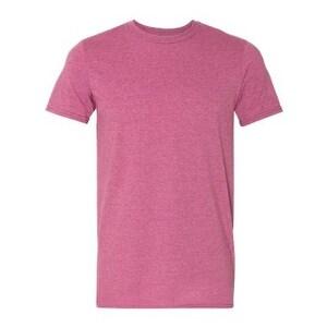 Lightweight Fashion Short Sleeve T-Shirt - Heather Raspberry - M
