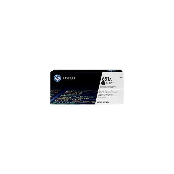 Hewlett Packard 651A Black Contract LaserJet Toner Cartridge(CE340AC)(Single Pack) Black Contract La