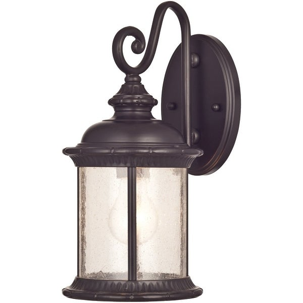 Westinghouse 6230600 Exterior Wall Lantern, Oil Rubbed Bronze