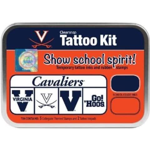 Clearsnap CS19637 University of Virginia Collegiate Tattoo Kit