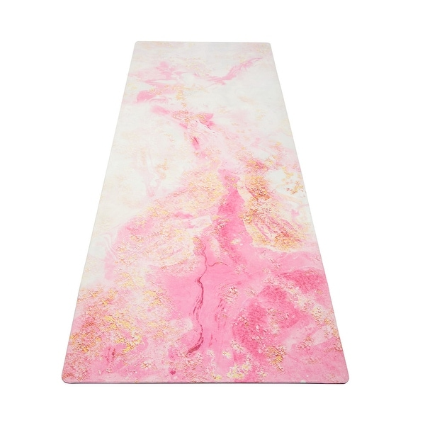 3.5mm suede rubber yoga mat. Opens flyout.