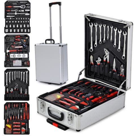 799 PCS Tool Set ,Tool Kit with Tools and Wheels - N/A