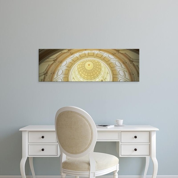 Easy Art Prints Panoramic Images's 'Ceiling of the dome of the Texas State Capitol building, Austin, Texas' Canvas Art