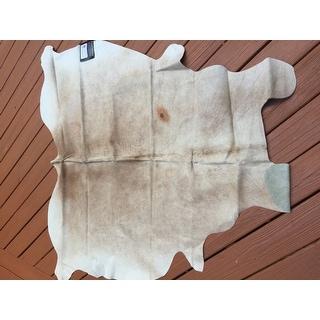 Safavieh Handpicked Hacienda Argentinian Brown Cowhide Leather Rug (4' 6 x 6' 6 )