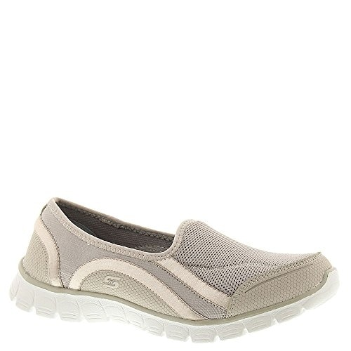 703bf3380cfd Shop Skechers EZ Flex 3.0 Aroundtown Womens Slip On Sneakers Taupe 10 -  Free Shipping Today - Overstock.com - 20977042