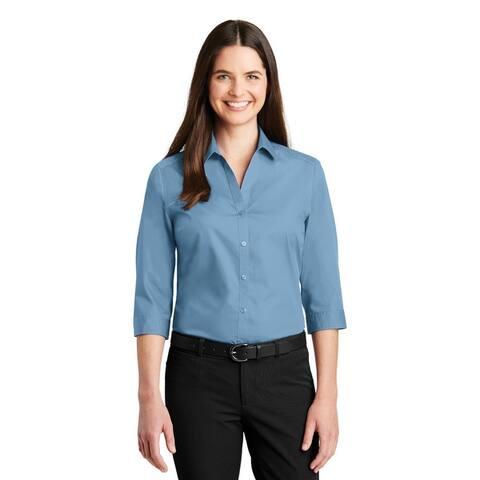Women's Lightweight 3/4 Sleeve Shirt Assorted Colors