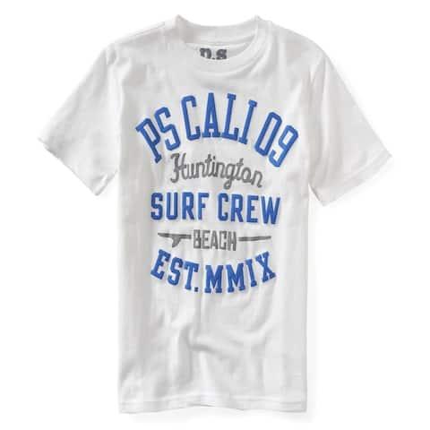 Aeropostale Boys Surf Crew Graphic T-Shirt
