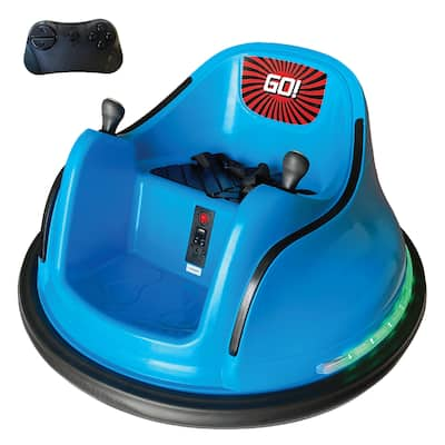Electric RC Kids Ride-on Bumper Car - Liights & Music