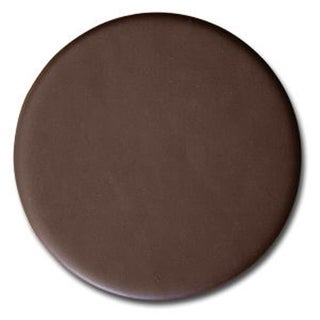 Dacasso A3471 Chocolate Brown Leather Round Coaster