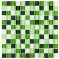 Buy Green Mosaic Tile Backsplash Tiles Online At Overstock Our Best Tile Deals