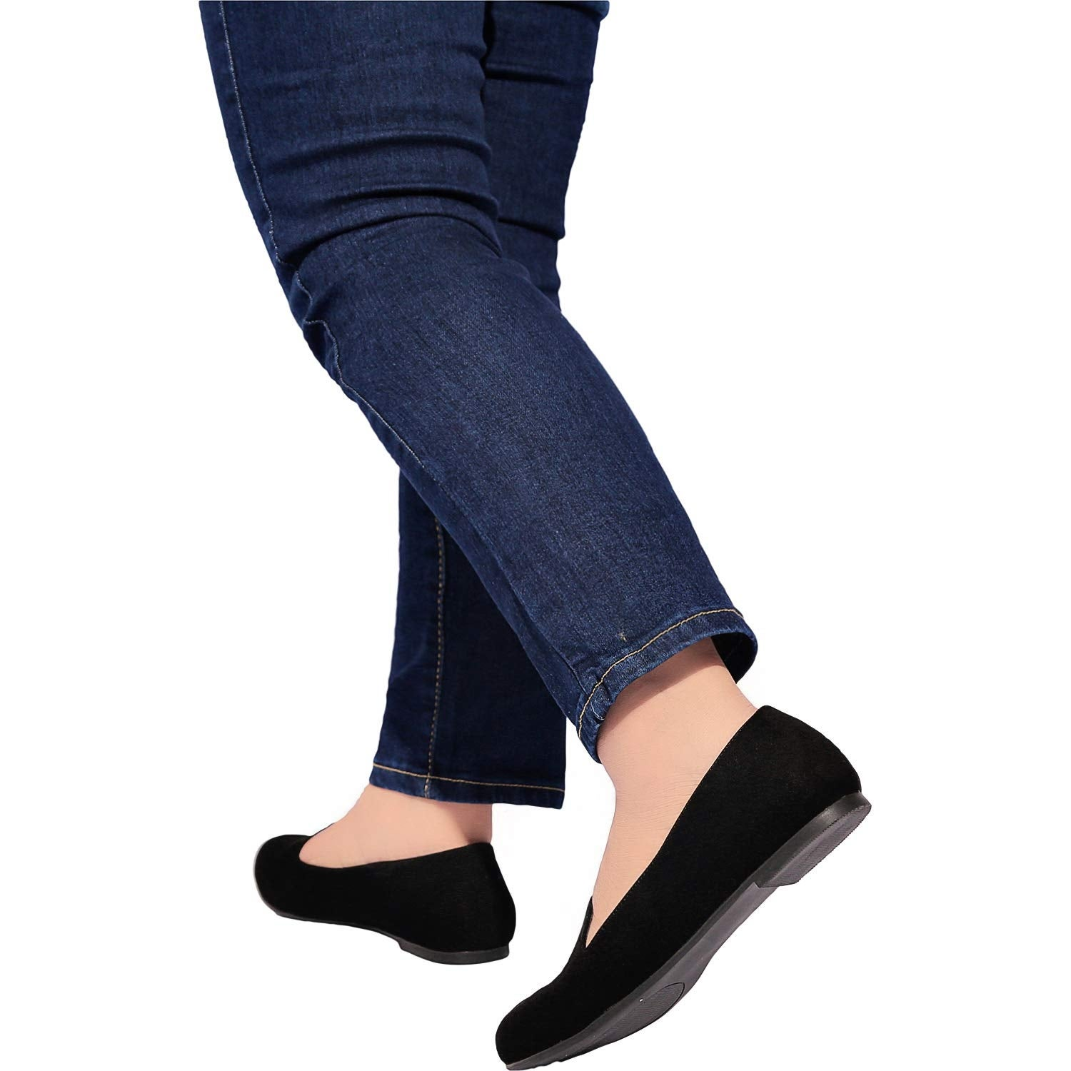 Comfortable Slip On Pointed Toe Balle