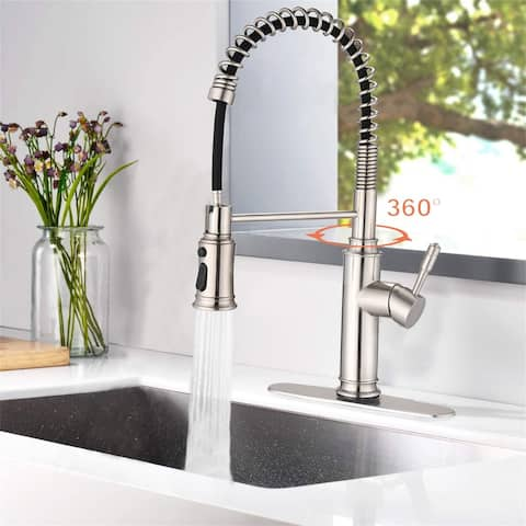 Touch Kitchen Faucet with Pull Down Sprayer