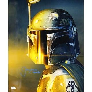 Jeremy Bulloch Autographed Star Wars Boba Fett 16x20 Photo Vertical JSA PSM