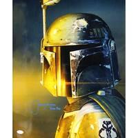 Jeremy Bulloch Autographed Star Wars Boba Fett 16x20 Photo Vertical JSA