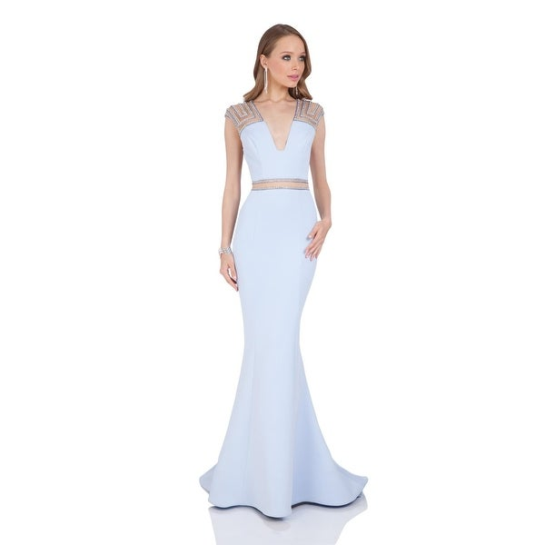 Terani Couture Prom Beaded Evening Dress