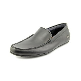 Lacoste Bonand Round Toe Leather Loafer