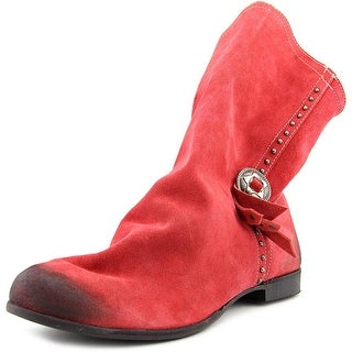 Coconuts By Matisse Chippewa Women Round Toe Leather Red Ankle Boot