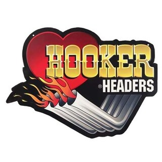 Holley 90152151-S Hooker Headers Embossed Tin Sign