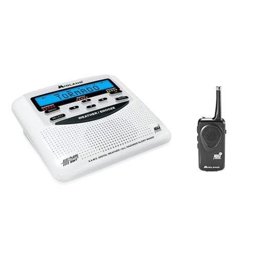 Midland WR120B + (1) HH50 Weather Radio