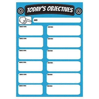 Objectives Large Magnetic Chart