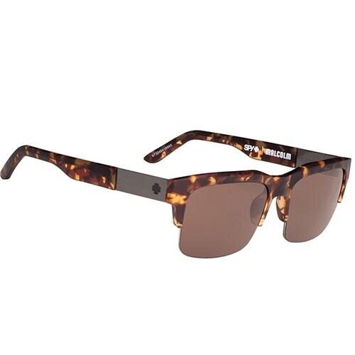 Spy Optic 648478765887 Malcolm Sunglasses Soft Matte Camo Frame Tort Bronze - soft matte camo tort