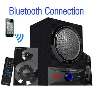 Roll over image to zoom in Boytone BT-209FD Wireless Bluetooth Main unit, Powerful Sound & Bass, 30 watt, excellent clear soun