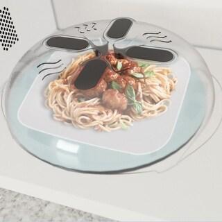 Food Splatter Guard Microwave Hover Anti-Sputtering Cover