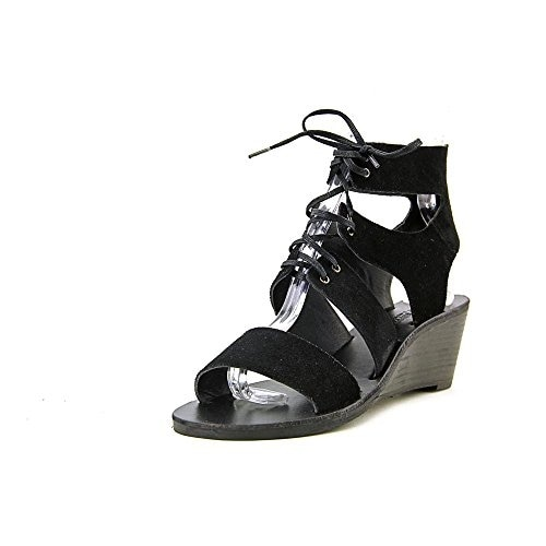 Denim & Supply Ralph Lauren Leni Women Leather Wedge Sandal