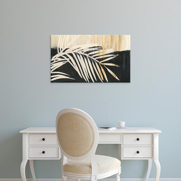 Easy Art Prints Jennifer Paxton Parker's 'Golden Raffia I' Premium Canvas Art