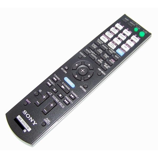 OEM Sony Remote Control Originally Shipped With: STR-DN840, STR-DN840