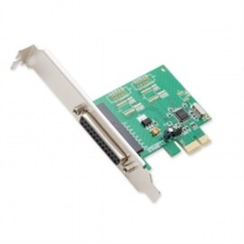 SYBA I/O Controller SI-PEX10010 1Port PCI-Express with Full and Low Profile Brackets WCH382L Chipset Retail