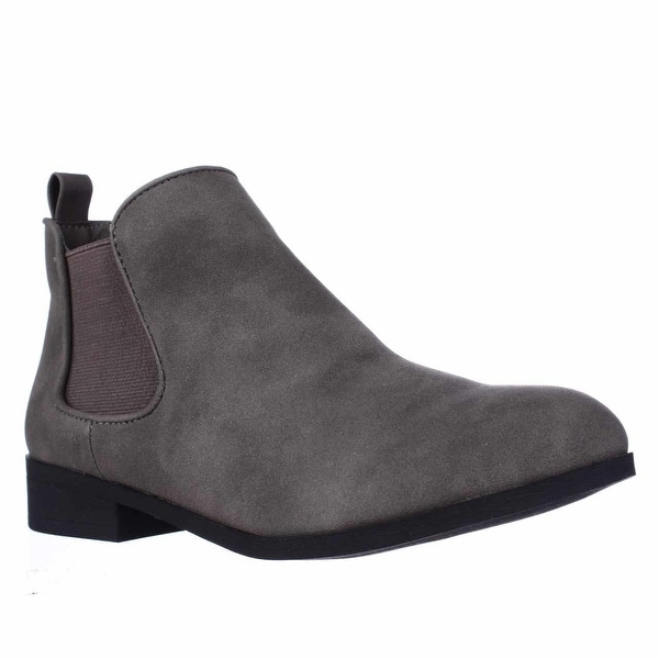 AR35 Desyre Chelsea Ankle Boots, Charcoal
