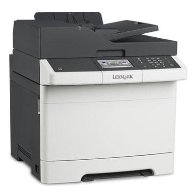 Lexmark Cx410de Color All-In One Laser Printer With Scan, Copy, Network Ready, Duplex Printing And Professional Features