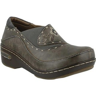 L'Artiste by Spring Step Women's Burbank Gray Leather