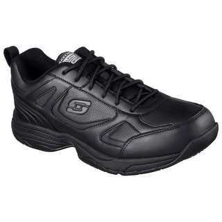 Skechers 77111 BLK Men's DIGHTON SR Work
