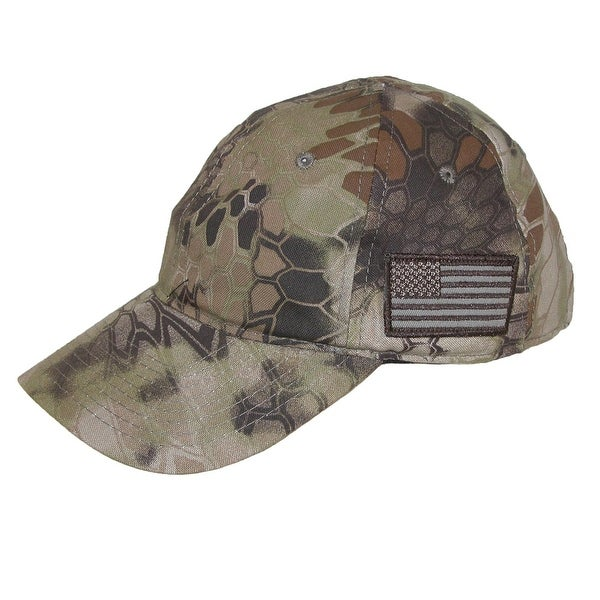538a8acde1a Shop Kryptek Camouflage American Flag Baseball Cap - Free Shipping ...
