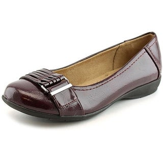 Naturalizer Gifford Round Toe Synthetic Flats