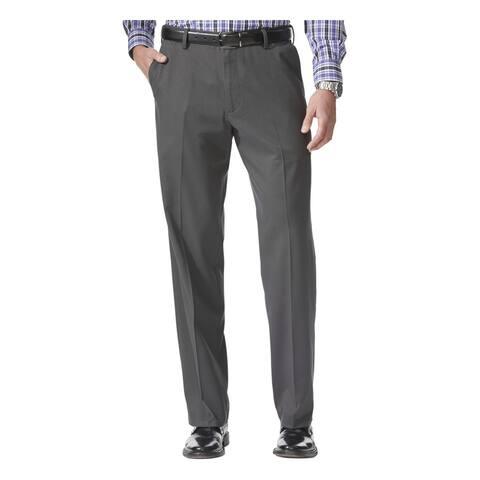 DOCKERS Mens Gray Stretch, Work Pants Size W34/ L34 - W34/ L34