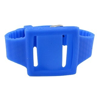 Silicone Nonslip Royalblue Wrist Phone Case Blue for iPod Nano 5