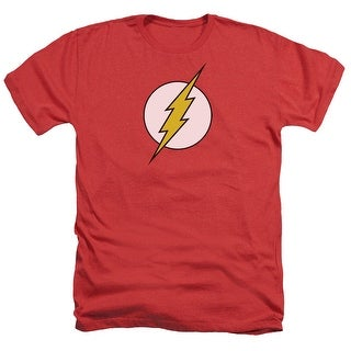 DC Comics Flash Logo Mens Heather Shirt