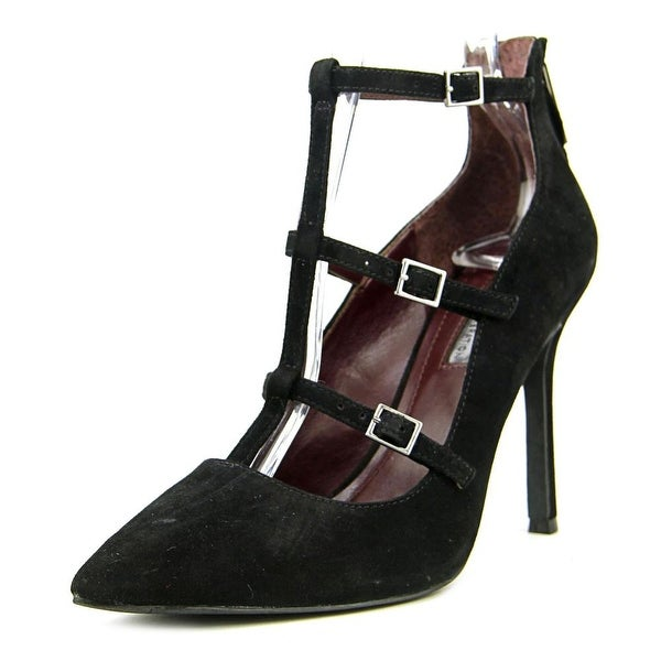BCBGeneration Tamerra Women  Pointed Toe Suede Black Heels
