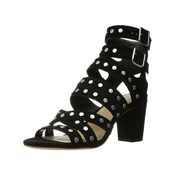 Loeffler Randall Womens Galia Dress Sandals Suede Gladiator