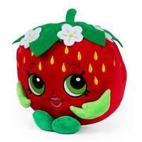 "Shopkins Strawberry Kiss Plush Doll Coin Bank 8"""