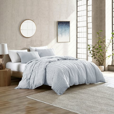 Brielle Home Mabel Solid Tufted Comforter Set