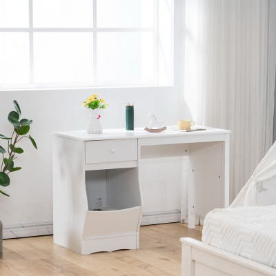 Home Use Kids Desk with Drawers and Storage Function