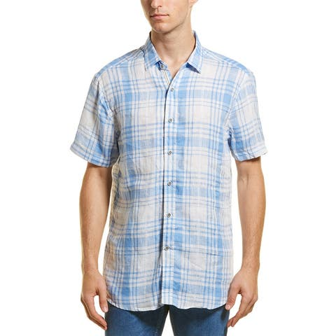 Heritage By Report Collection Linen Woven Shirt