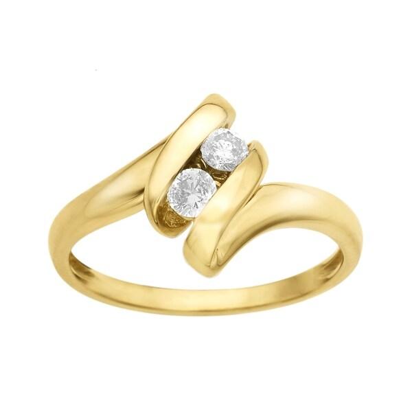 1/5 ct Diamond Ring in 10K Gold